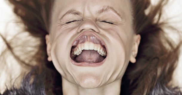 The Reason Behind This Woman's Distorted Face Will Blow You Away